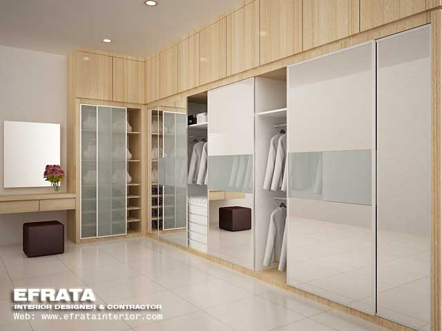 walk in closet modern design