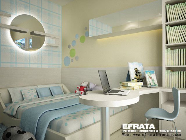 kids bedroom modern design
