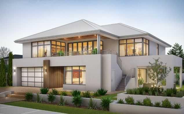 Desain Rumah Mewah 2 Lantai Minimalis Efrata Desain Kontraktor