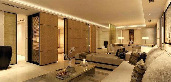Desain Ruang Tamu Super Mewah ruang keluarga dengan sofa yang nyaman efrata desain