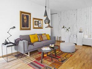 Dekorasi Ala Skandinavia Memang Tidak Mengandalkan Karpet Dari Ujung Ke Tembok Tapi A Ini Nyaris Lepas Rug Yakni Berukuran