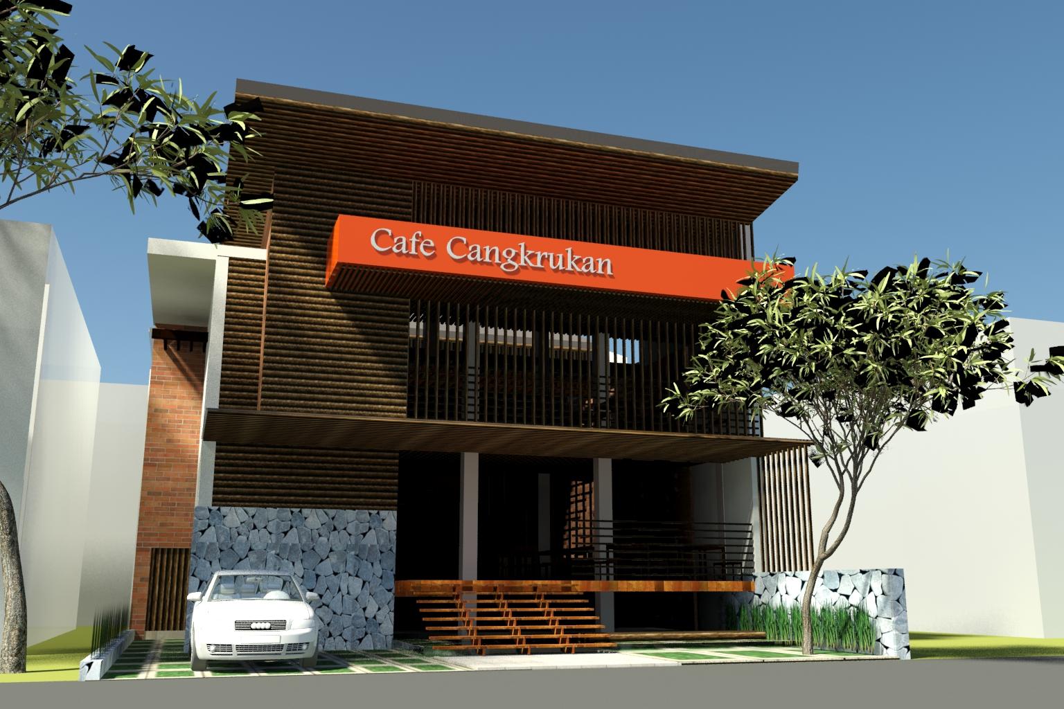99 Desain Rumah Cafe Sederhana Terlengkap Generasi Arsitek